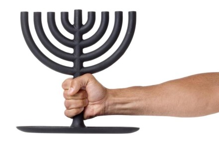 Menorah by Josh Owens for Areaware