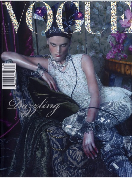 "Steven Meisel's ""Wasted Luxury"" for Vogue Italia"