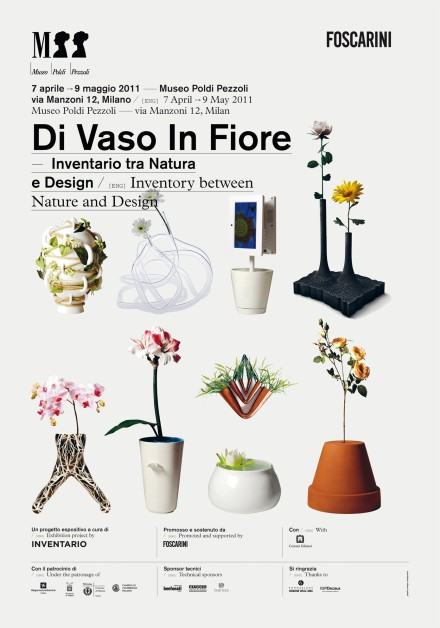 """Di Vaso in Fiori"" @ Milan Design Week 2011"