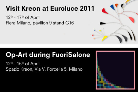 Kreon @ Milan Design Week 2011