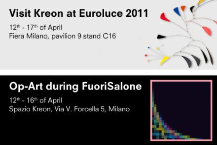 Kreon @ Milan Design Week 2011