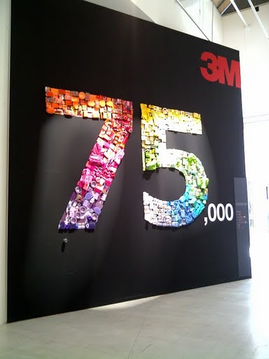 "3M ""Infinite Innovation"" @ Milan Design Week 2011"