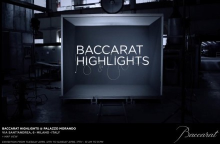Baccarat @ Milan Design Week 2011