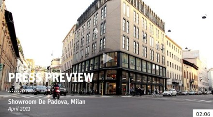 The De Padova Press Previews @ Milan Design Week 2011