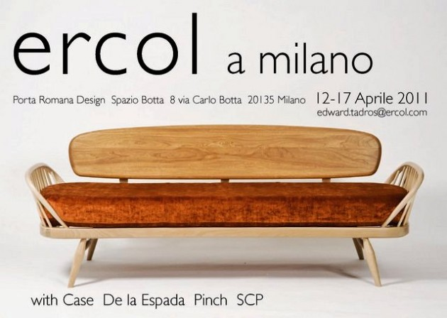 Ercol & Friends @ Design Milan Week 2011