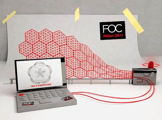 Wallpaper* Handmade by FOC @ Milan Design week 2011