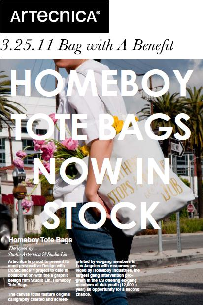 "Artecnica ""Home Boy tote bags"""