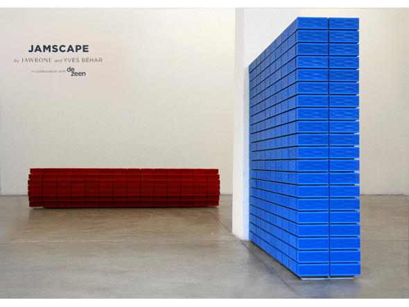 Jawbone Jamscapes with Dezeen @ Milan Design Week 2011