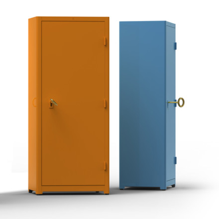 Job Cabinets for Lensvelt @ Milan Design Week 2011