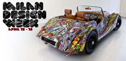 Morgan Three Wheeler @ Milan Design Week 2011