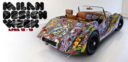 Morgan Three Wheeler @ Milan Design Week 2011