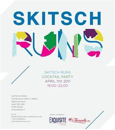 Skitsch Runs @ Milan Design week 2011