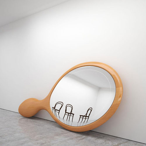 9 Mirrors by Ron Gilad at Dilmos @ Milan Design Week 2011