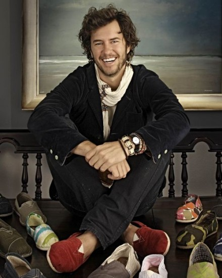 Blake Mycoskie – TOMS Social Entrepreneur (Buy1:Give 1)