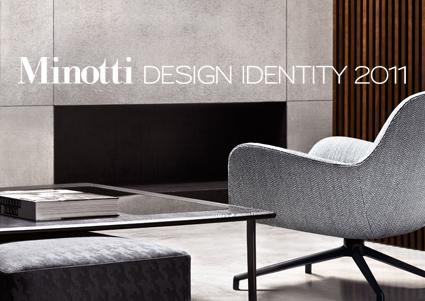 Minotti Design Indentity 2011