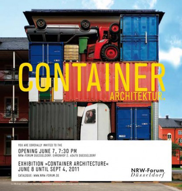Container Architecture = Pop Up Architecture ? or Cargotecture ?