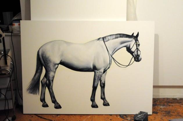 Sport Horse by Anwen Keeling @ Liverpool Street Gallery