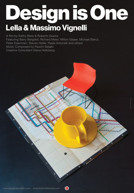 "Lella and Massimo Vignelli – ""Design is One"""