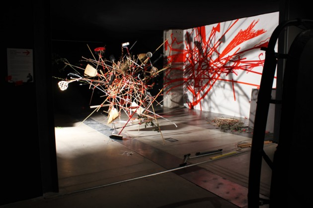 Improvised Making by Dominic Wilcox @ Salone Milan 2012