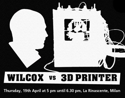 Dominic Wilcox vs 3D Printer at la Rinascente @ Salone Milan 2012
