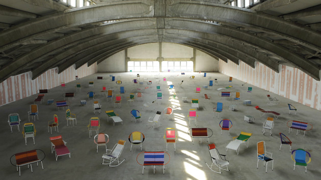 Columbian Ex-Prisoner Chairs for Marni@ Salone Milan 2012