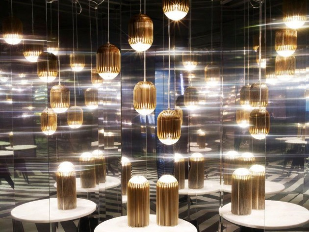 Luminosity by Tom Dixon @ Salone Milan 2012