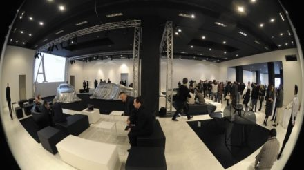 Mercedes Benz does Furniture @ Salone Milan 2012