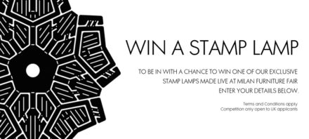 Tom Dixon Stamp Giveaway at MOST @ Salone Milan 2012