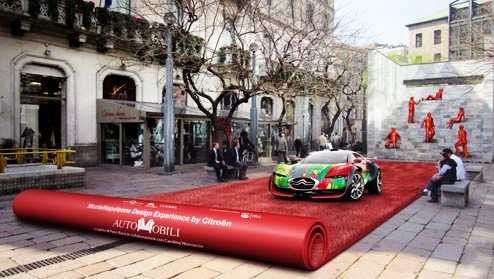 Auto-Mobile Exhibition @ Salone milan 2012