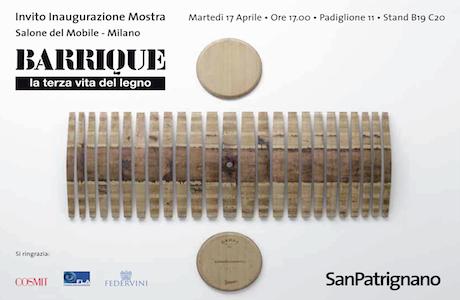 San Patrignano Barrique @ Salone Milan 2012