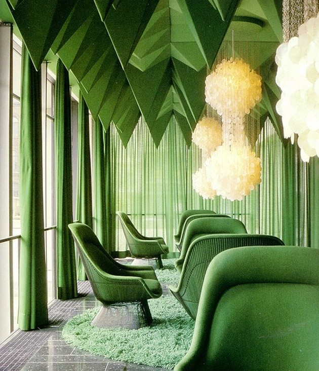 Verner Panton – Der Spiegel HQ, Knoll & Colour Saturation