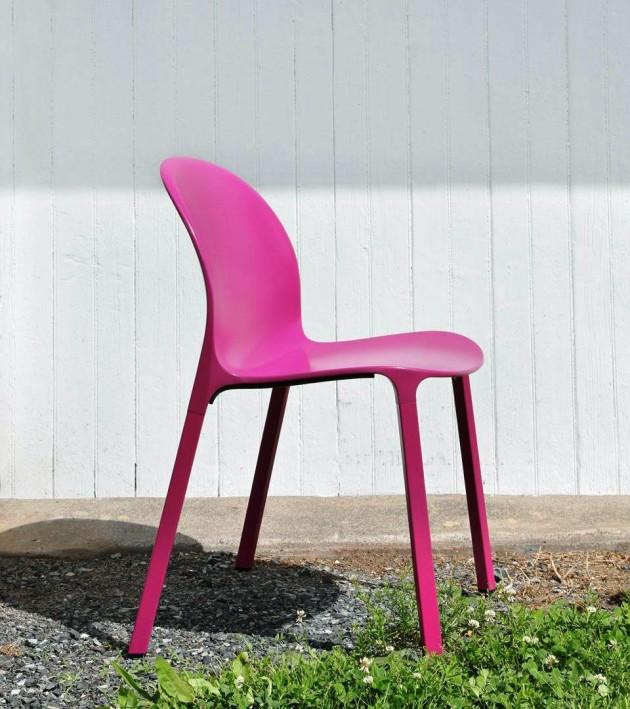 Olivares Aluminium Chair for Knoll
