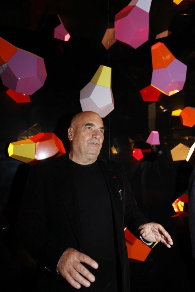 Dodecahedrons by Fuksas @ Salone Milan 2013