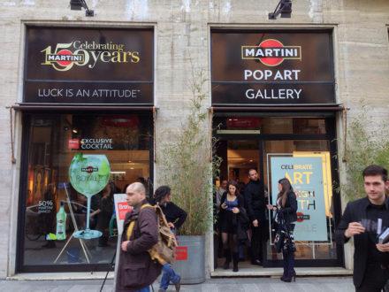 Martini Pop Art Gallery @ Salone Milan 2013