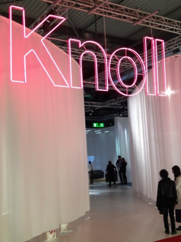 This is Knoll ( pt 3/4 ) @ Salone Milan 2013