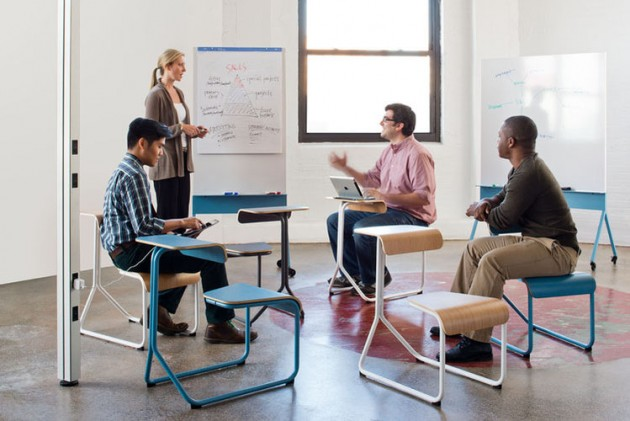Spontaneous Collaboration Spaces @ Knoll