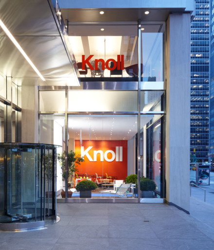 Knoll's New York Showroom