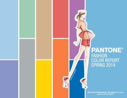 Pantone Spring Fashion Colour Trends 2014