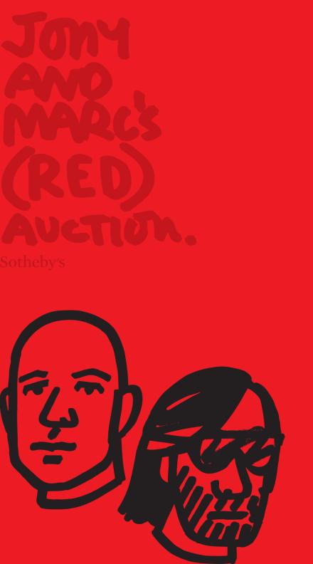 Jony & Marc's (RED) Auction 2013 @ Sotheby's New York
