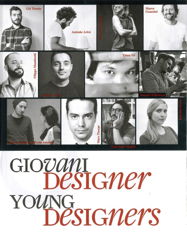 Young Designer's @ Salone Milan 2014