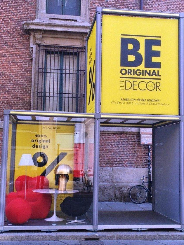 100% Original Design @ Salone Milan 2014