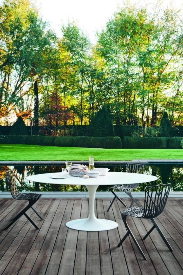 Knoll Extends Further Outdoors @ Salone Milan 2014
