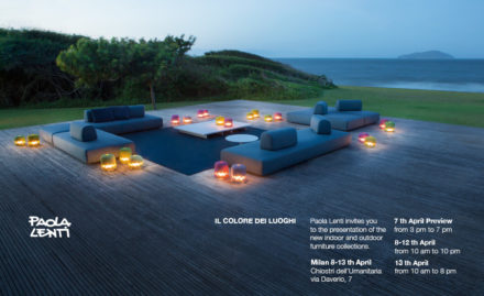 Paola Lenti – The Colour of Places @ Salone Milan 2014