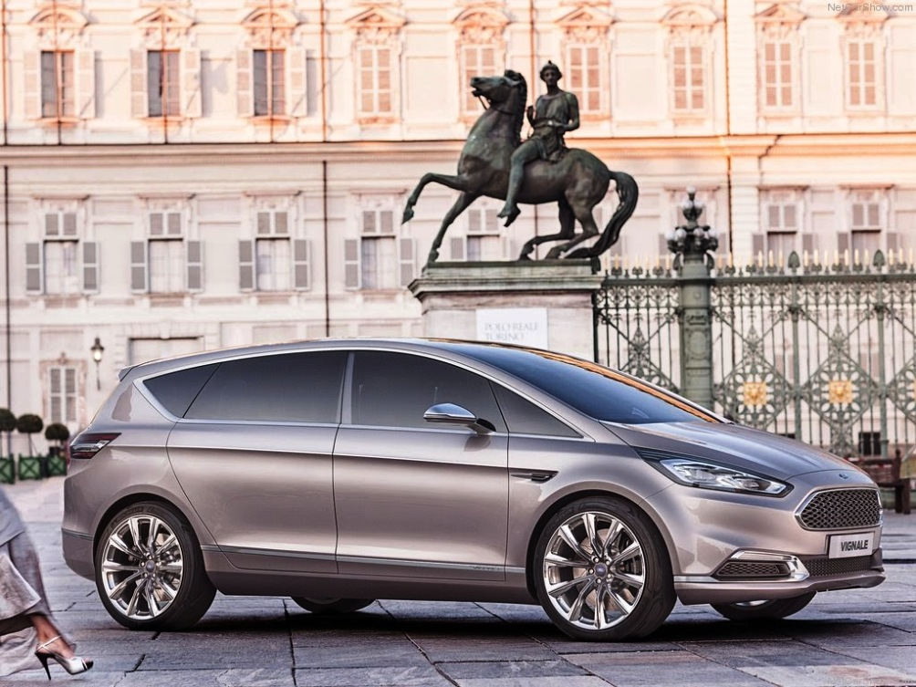 2014 Ford S-MAX Vignale Concept Car with new Interior and Exterior (1)