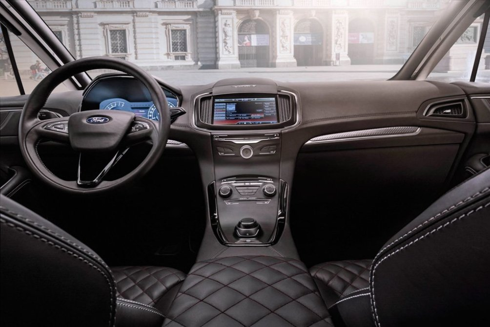 2014 Ford S-MAX Vignale Concept Car with new Interior and Exterior (2)