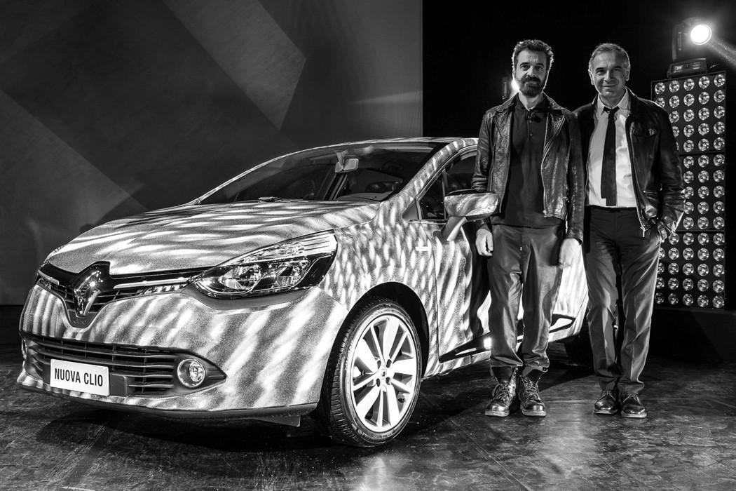 tive Laurens Van den Acker, director of design at Renault, and Ennio Capasa, creative director at Costume National