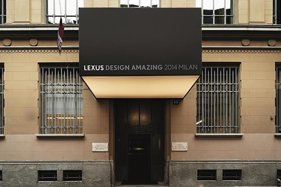 lexus design milan
