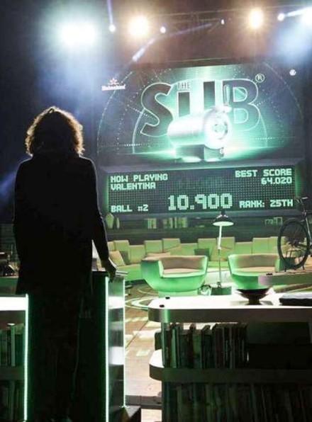 Heineken Sub Pinball @ Salone Milan 2014