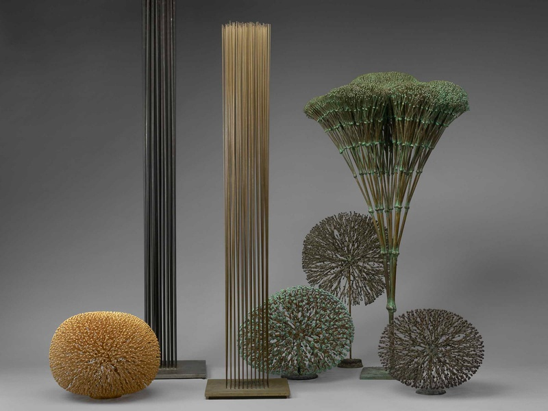 Grouping of Harry Bertoia sculptures from the John R. Eckel Jr. collection Courtesy of The Museum of Fine Arts, Houston