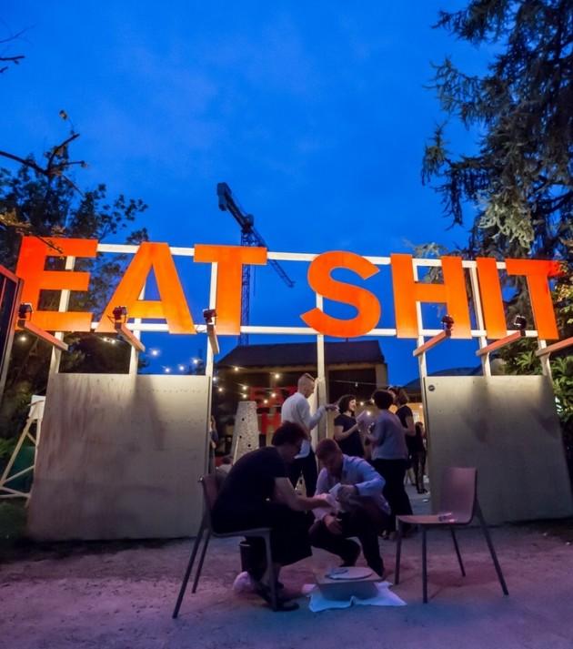 Eat Shit by D.A.E @ Salone Milan 2015